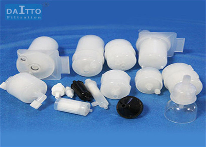 PP / PES / PVDF Disposable Capsule Filter PH 1 - 13 Value With PP Inner Core