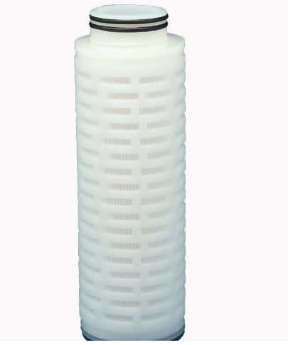 20 Inch Pleated Filter Cartridge 0.2 Micron For Pure Water Process